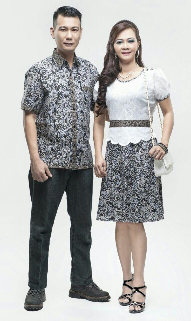 Rosiana Mega Mendung Pria M L XL Cewek Allsize #coupledress #couplescostume #couplenatal #sarimbitan