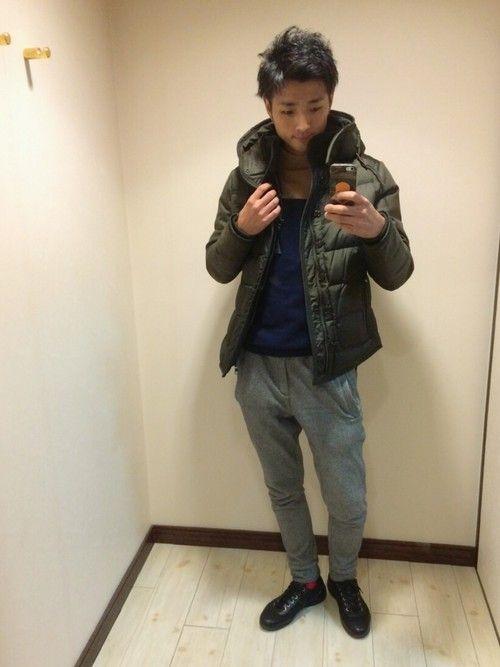 MONCLERのダウンジャケット/コートを使ったショップスタッフ U-Daiさんのコーディネートです。│#MONCLER #兵庫県 #姫路市...