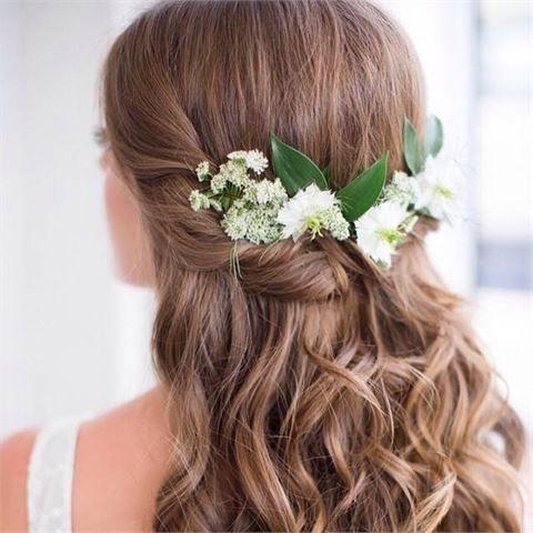 Wedding ideas for a rustic wedding - wedding hair