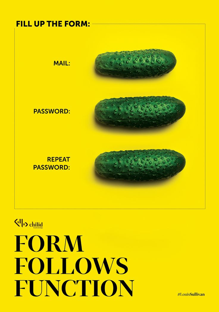 FORM FOLLOWS FUNCTION  #quote #webdesign #interior #poster #chilid #design #values #designagency