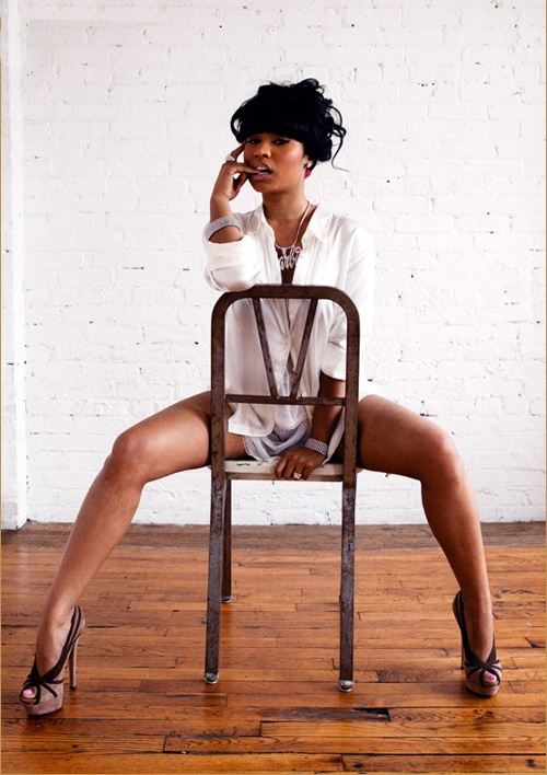 Nicki Minaj - Chair Honey mag   Could she be any more of a boss lady?