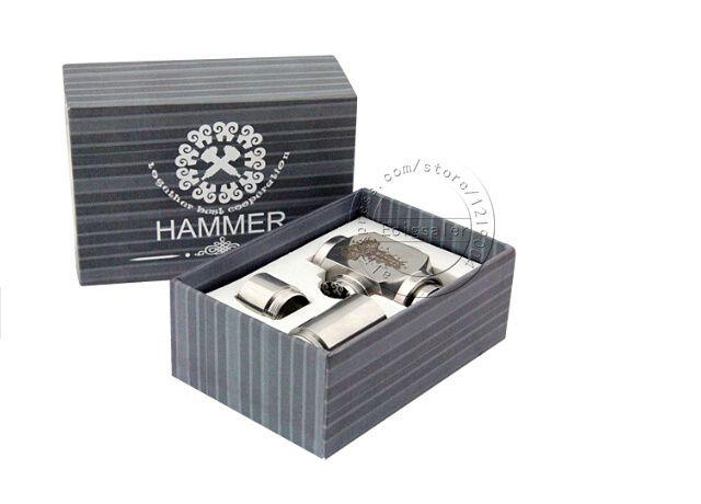 >> Click to Buy << E-XY Hammer Mechanical Mod ecig Hammer Mod Vapor Cigarette With 2pcs Extension Tubes For 18350 Battery e cigars Vapor Vape #Affiliate