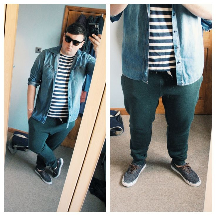 Chubby guy fashion
