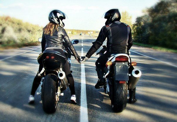 couple moto | Cute | Pinterest | Chang'e 3, Couple and Bikes