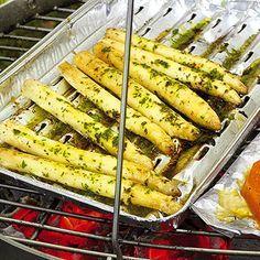 Spargel mit Bärlauch Rezept   Küchengötter