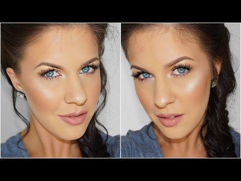 Natural Glowing Makeup in Under 10 Minutes! | Nikkia Joy - YouTube