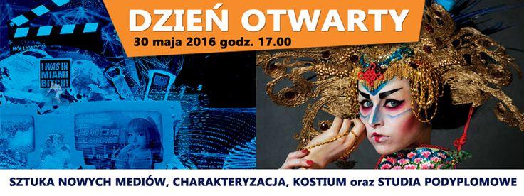 Wyższa Szkoła Artystyczna w Warszawie zaprasza na   DZIEŃ OTWARTY 30 MAJA 2016 godz. 17.00 #LICENCJAT- #STUDIA PODYPLOMOWE-#STUDIUM PLASTYCZNE