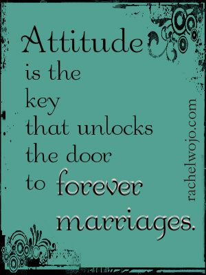 The most dangerous attitude in marriage may not be what we think....