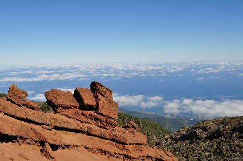 Gran Canyon? Nein – das ist La Palma, die Kanareninsel!   Und zwar die tolle Aussicht vom Roque de Los Muchachos.