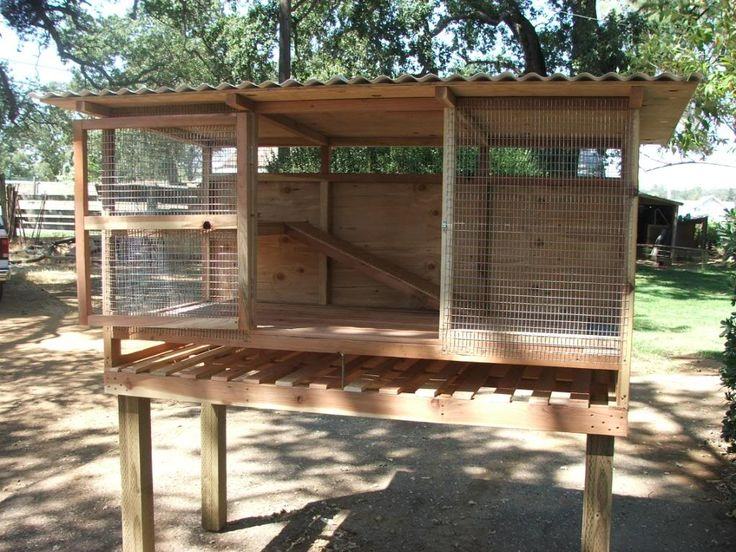 Would LOVE to have one of these for each of my breeders and future members of the rabbitry!!  rabbit cages hutches plans | KAREN'S FLEMISH GIANT HUTCH!