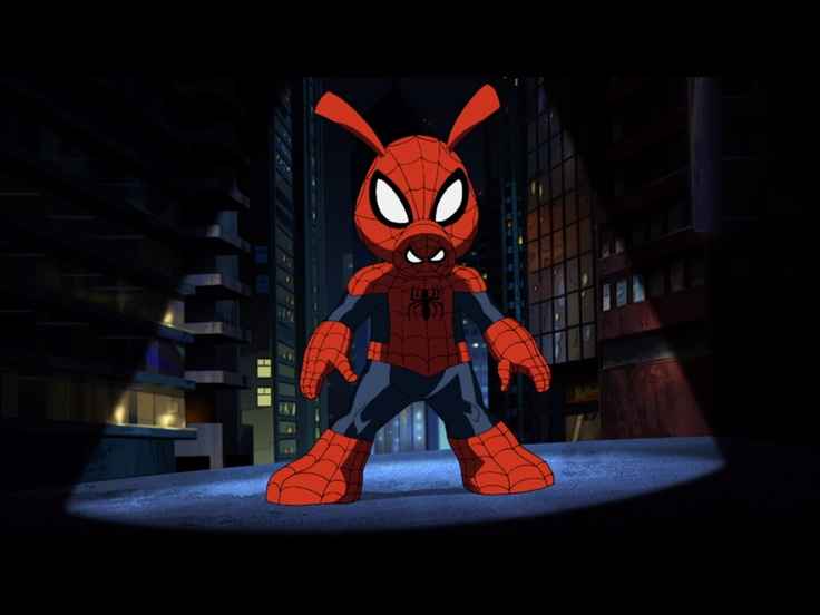 Spider-Ham cameo from the Ultimate Spider-Man cartoon on Disney XD