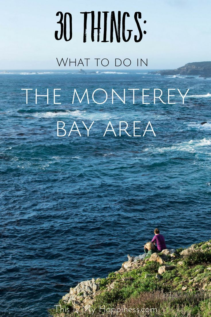 When your coastal California road tirp stop sin Monterey here are 30 things to do including the areas of Monterey, Carmel, Big Sur & Pacific Grove.