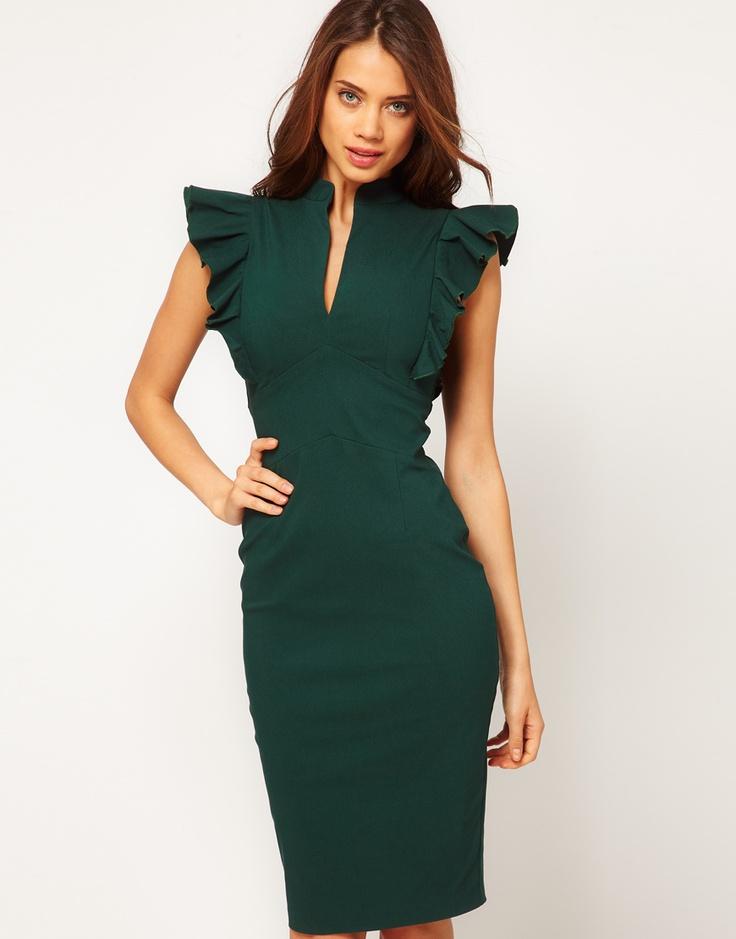 Hybrid one shoulder dress asos marketplace