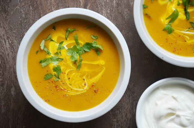 Kublanka vaří doma - Pikantní dýňová polévka