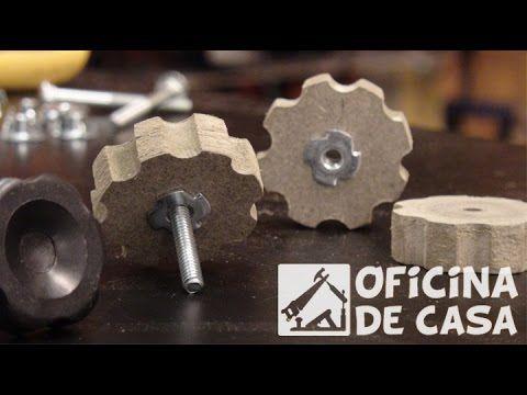 Manoplas, Manípulos ou Botão - Feito em madeira
