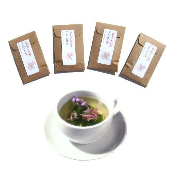 4 Herbal Fields Sachets Scented Wildflowers by pebblecreekcandles, $12.00