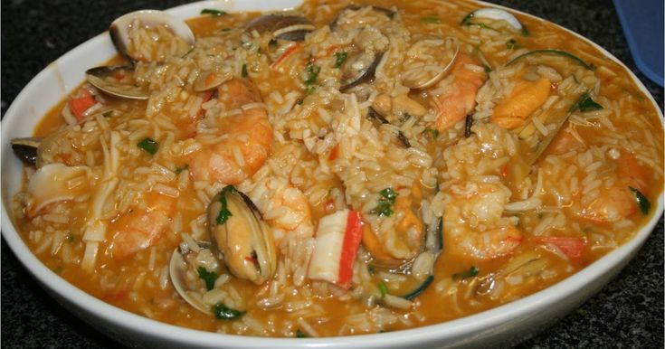 Recettes de la Cuisine Portugaise: Riz fruits de mer (Arroz de Marisco)
