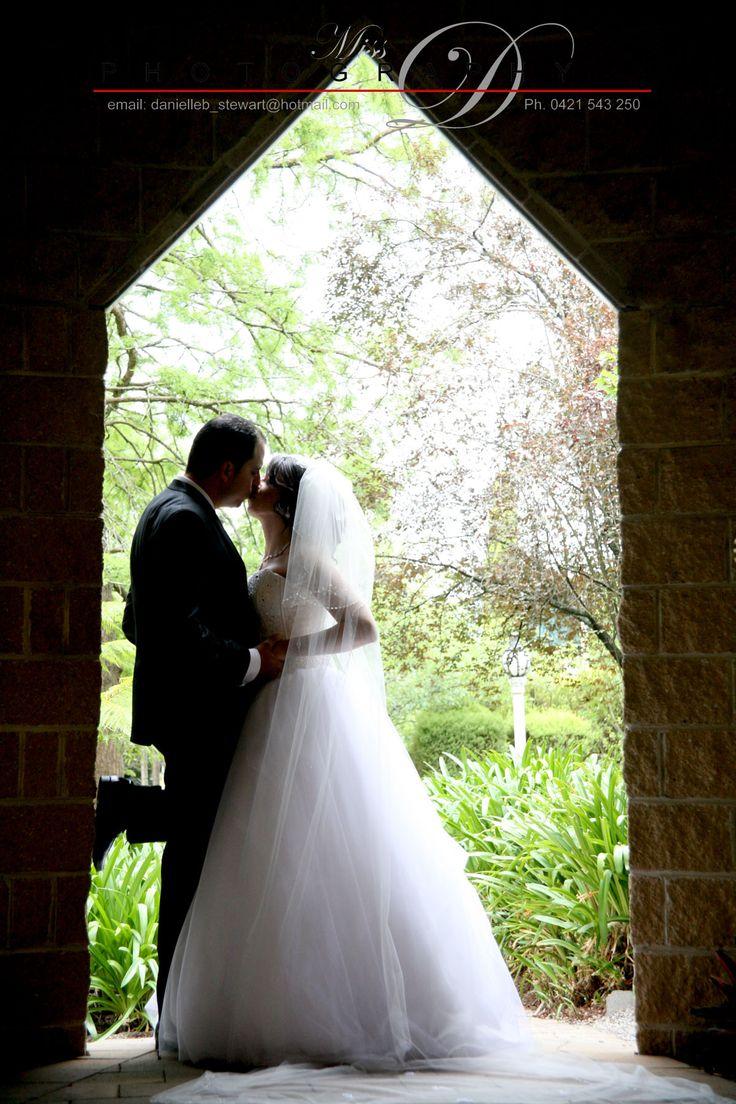 Gorgeous wedding photos at Linley Estate.