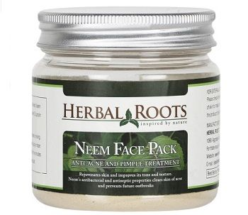 herbal roots neem face pack