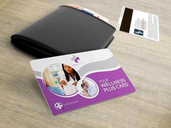 Planet Pharmacy Fidelity Brochure & Card on Behance