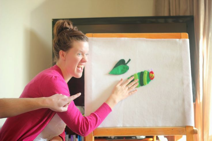 Hungry Caterpillar Party Story Board