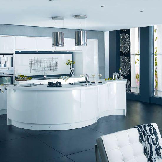 roomenvy - sleek modern kitchen