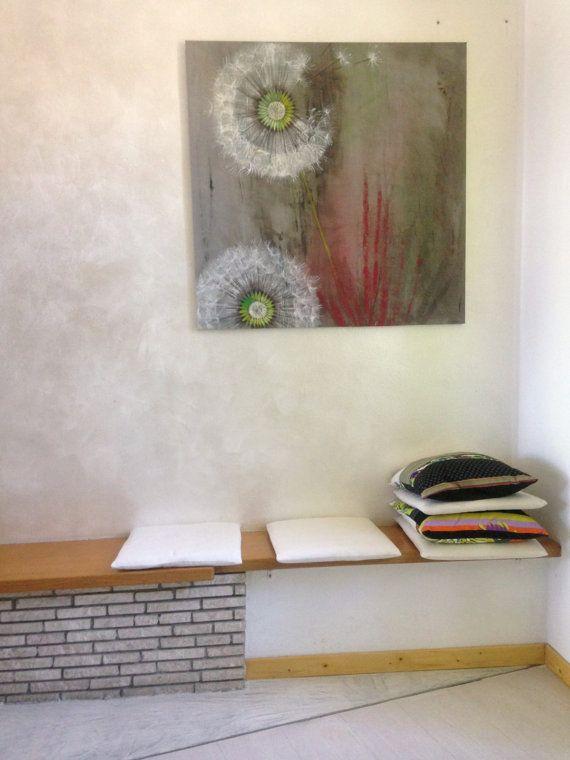 Dipinto floreale moderno/ Dipinto con fiori di PaintingsByCipeciop