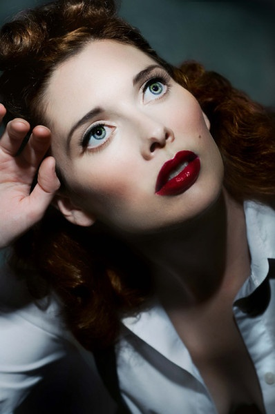 M: Carolyn  P: Twilight Images  Gorgeous lips and skin.
