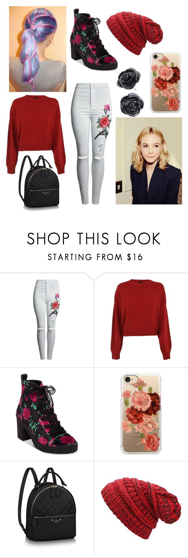 """""""Caroline Harper"""" by amiipupper ❤ liked on Polyvore featuring Theory, Betsey Johnson and Casetify"""