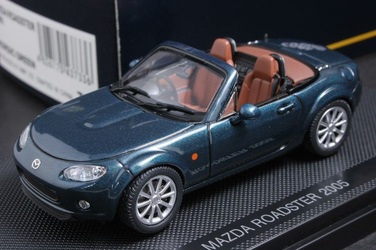 Ebbro 43733 1 43 Scale Mazda Roadster Mx 5 Miata 2005 Green