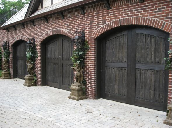 Those standard, builder-basic doors can be limiting your home's curb appeal, not to mention its resale price. In fact, replacing the ordinary with a graceful and well- crafted carriage house style garage door can add five to eight percent to your home's value. a minimal improvement for a maximum impact.