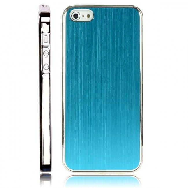 Alu Shield Ver. II (Vaaleansininen) iPhone 5 Suojakuori - http://lux-case.fi/alu-shield-ver-ii-vaaleansininen-iphone-5-suojakuori.html