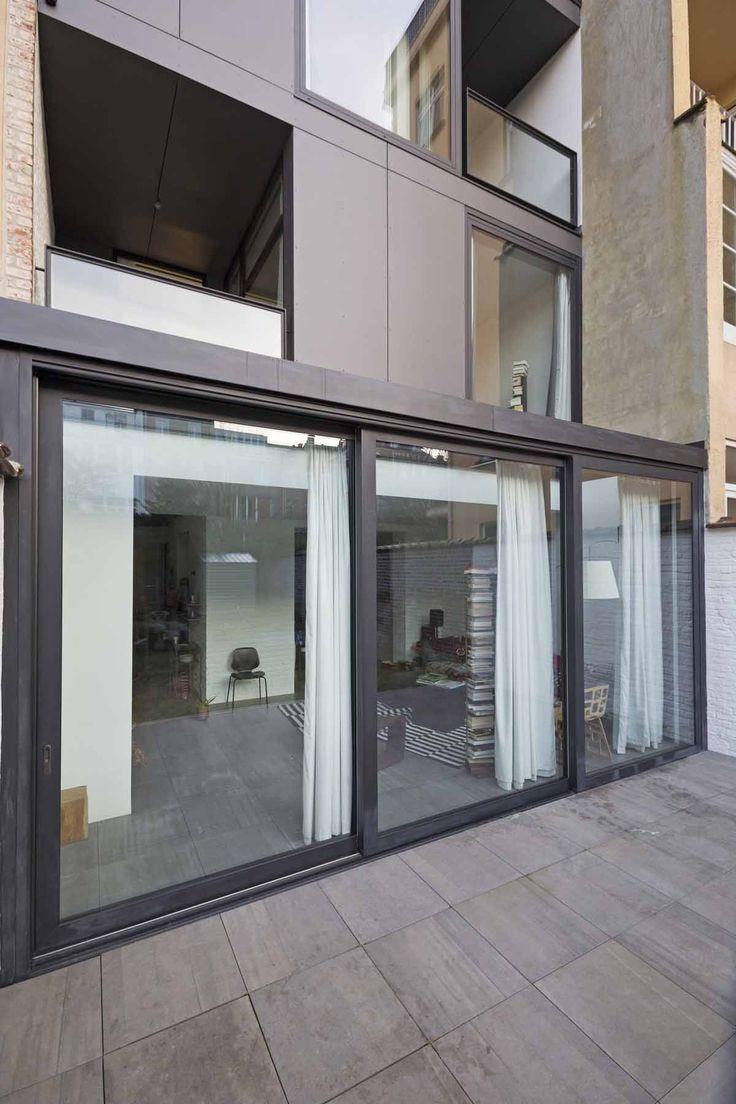 25 beste idee n over moderne architectuur woning op pinterest moderne architectuur moderne - Renovateer een huis van de jaren ...