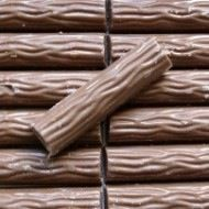 Chocolate logs..... very hard toffee covered with very poor quality chocolate so not so great but only a penny