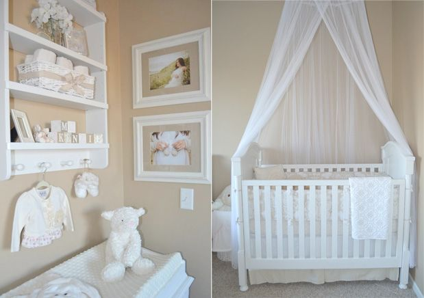 Nursery in the master bedroom small spaces pretty on - Master bedroom ideas for small spaces ...