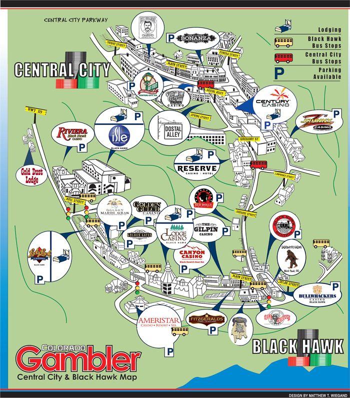 Colorado Casino Map