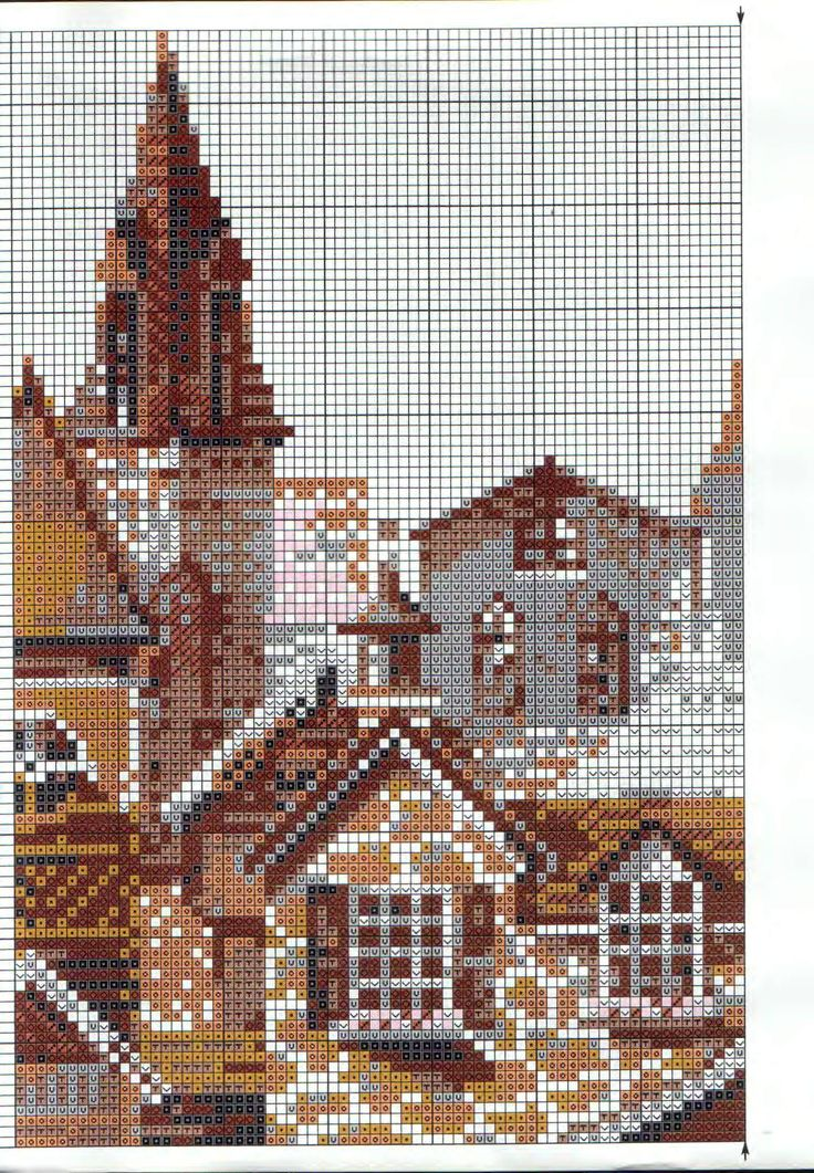 99 Best Cross Stitch Houses Barns Buildings Images On
