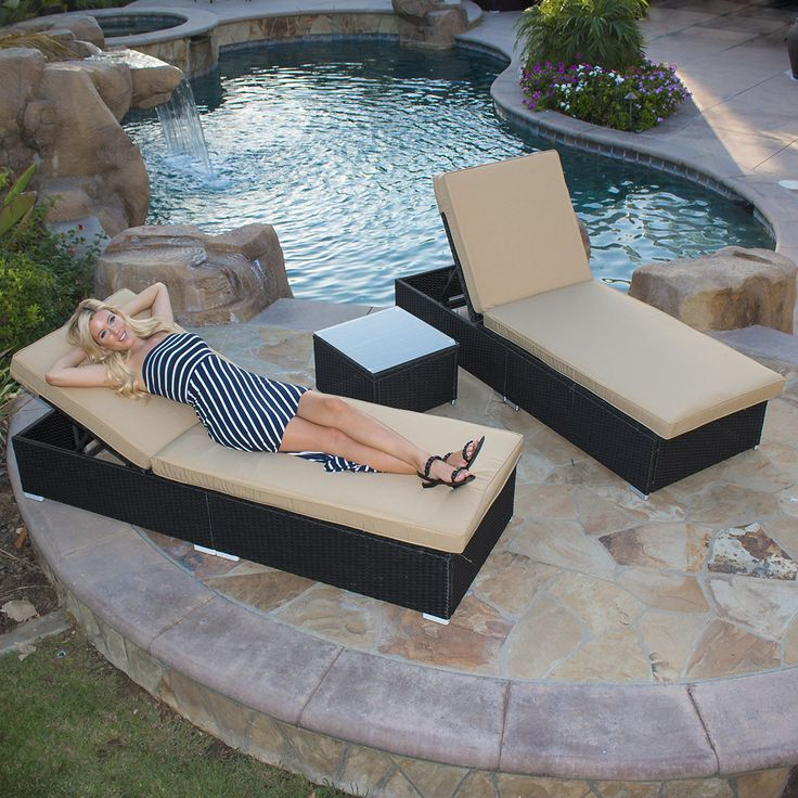 Best 20 rattan sofa ideas on pinterest diwan furniture for Belmont black wicker patio chaise lounge