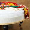 How to make a large round ottoman!  Under the Surface