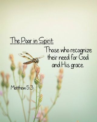 Image result for blessed are the poor in spirit images