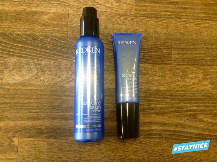 I Love Redken! Get long perfect hair with theese!