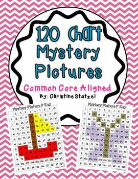 120 Chart Mystery Pictures - Common Core Aligned10 Mysteries, Cores Alignment, 120 Charts And Pictures, Charts Pictures, Math 2Nd Grade Common Cores, Charts Mysteries, Mysteries Pictures, Ccss Alignment, 2Nd Grade Math Common Cores