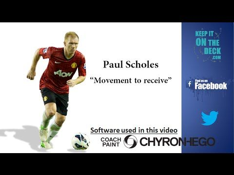 """Paul Scholes Soccer Analysis - """"Dropping to Receive"""""""