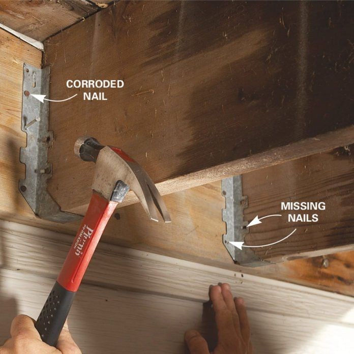 Easy Deck Inspection And Deck Repair Tips Deck Repair Easy Deck