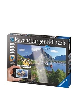 30% OFF Ravensburger Lofoten, Norway, 1000-Piece Augmented Reality Puzzle