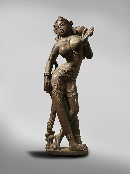 Surasundari - Celestial maiden 12th century. Rajasthan, India. (via National Gallery of Australia)