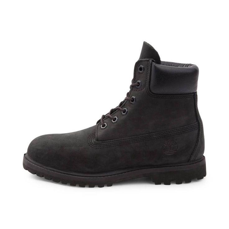"""Womens Timberland 6"""" Premium Boot - Black - 538520"""