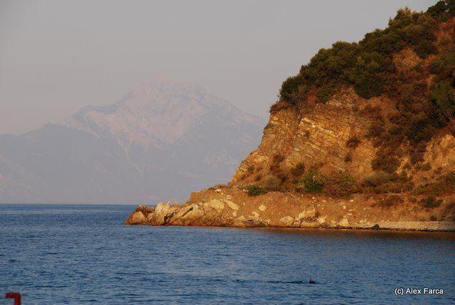 Aegean See, Halkidiki, Greece