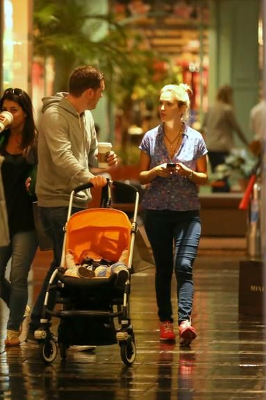 The family moments of Michael Bublé in Brazil