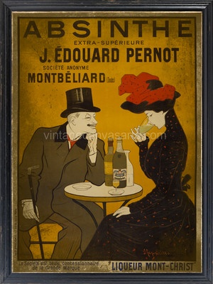 Vintage Shabby Old French  Advertising  Drinks Poster - A1/A2/A3/A4 + More sizes
